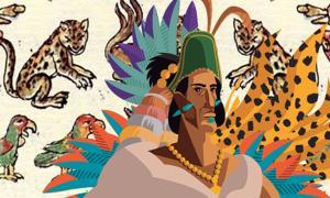 Montezuma's zoo is a legendary treasure of the Aztec empire