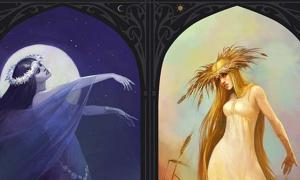 A Cycle of Life and Death: Slavic Goddesses Morana and Vesna