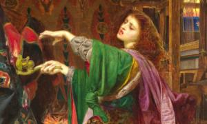 Morgan Le Fay by Frederick Sandys