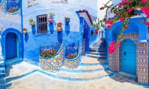Amazing street and architecture of Chefchaouen, Morocco, North Africa By Balate Dorin / Adobe Stock