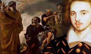 Deriv; Moses and the Messengers from Canaan, Christopher Marlowe