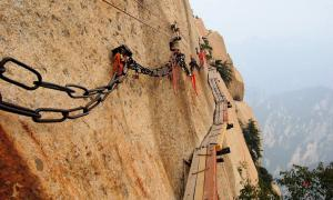 Mount Hua, Huashan, trail