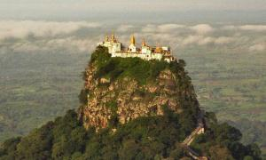 Mount Popa Monastery and the Mythology of the Thirty-Seven Spirit Guardians