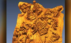 Victims found in a fornici hiding from the blast of Mount Vesuvius     Source: Rachelle Martyn et al, Antiquity