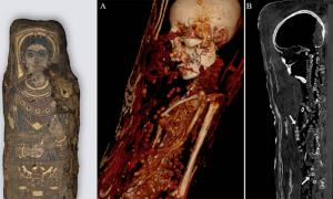 Mummies Scanned to Unravel the Beautiful Mysteries Bound Inside