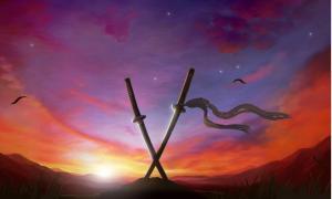 Illustrations of Muramasa blades for the game 'Muramasa: The Demon Blade'