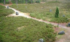 Odry stone circles, Poland.
