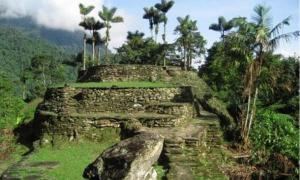 Mystical Lost City in Tayrona National Park, Santa Marta, Colombia