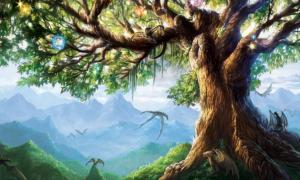 Norse Mythological tree