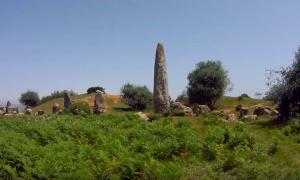 The Mzora Stone Circle in Northern Morocco.