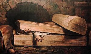Nachzehrers: The Shroud Eating Vampires of Germanic Folklore