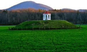 Nacoochee Indian Mound in Georgia