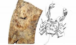 The Shock Discovery of the Nakovane Zodiac