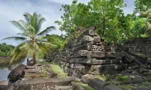 Nan Madol: Ceremonial Center of the Eastern Micronesia: Pohnpei Island.