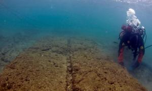Ancient Naval Base Discovered Underwater Near Athens