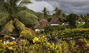 Traditional Fijian village, Navala
