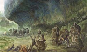 Neanderthal burials