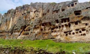 Necropolis of Otuzco - Peru
