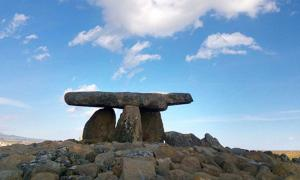 The Chavola of the Sorceress, Dolmen in Alava, Spain