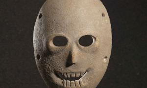 Neolithic spirit masks - Jerusalem