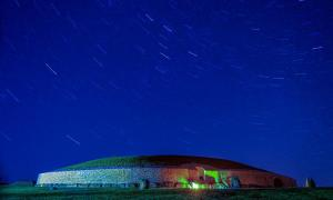 December 21, the longest night and shortest day of the year, is a special event at Newgrange in County Meath, Ireland. This photo was shot August 24, 2014.