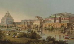 Archaeologist Henry Layard's image of Nineveh.