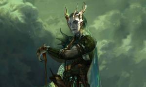 'Njord god of the sea'. (Deriv.)