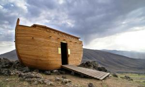 Flood tablet from Epic of Gilgamesh has Noah's Ark being built based on fake news trickery.   Source: www.photostock.am / Adobe Stock