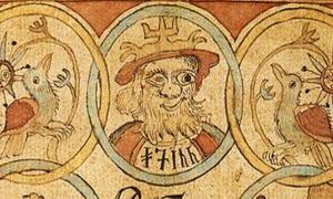 Manuscript of the Prose Edda - Norse Mythology