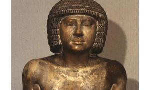 Sekhemka statue at Northampton Museum