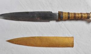 A new study has found that all iron tools from the Bronze Age, including King Tutankhamun's dagger, were made from meteoric metal.