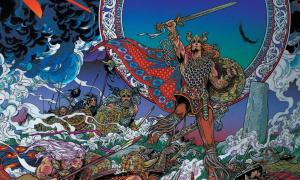 Nuada The High King by Jim Fitzpatrick