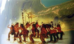 The Native American Legend of the Sleeping Giant and the Whiteman