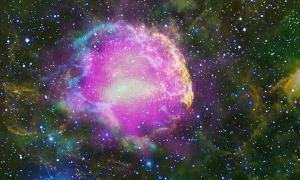 A supernova remnant