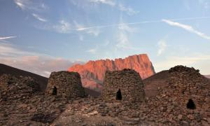 Ancient beehive tombs of Oman