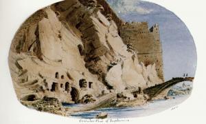 Oracular cavern of Trophonius by Skene James (1838-1845) (Public Domain)