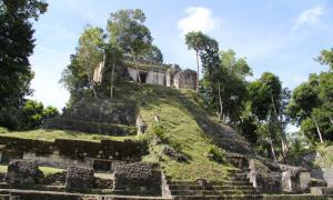 The Orange Temple at Nakum