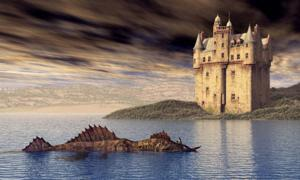 Illustration of the Loch Ness Monster. Credit: Michael Rosskothen / Adobe Stock