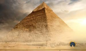 The Great Pyramid Of Giza Enacting The Rite Of Rebirth