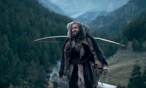 Ötzi or Kelab as portrayed by Jürgen Vogel in Der Mann aus dem Eis (Iceman).