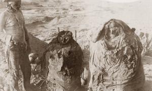 The Pachacamac mummies of Peru