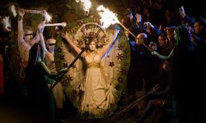 Beltane Fire Festival Celebrations.