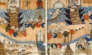 Conquest of Baghdad by the Mongols in 1258.