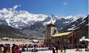Kedarnath temple is the first on the Panch Kedar pilgrimage and is visited by thousands of pilgrims every year. Source: Sushant Pandey / Knowledge of India