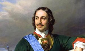 Portrait of Peter the Great. Source: Themadchopper / Public Domain.