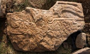 Striking Pictish Dragon Carving Discovered During Storms in Orkney