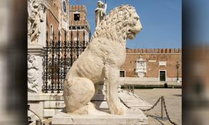 The Piraeus Lion of Venice: Runes and Roaming from Greece to Italy