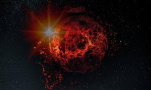 Mars cataclysm