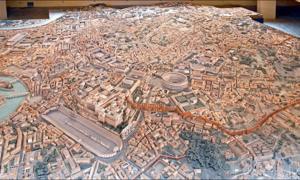 Plastico di Roma imperiale at the Museum of the Roman Civilization. Source: Jean-Pierre Dalbéra / CC BY-SA 2.0.