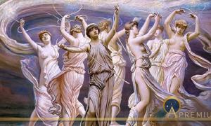 The Pleiades by Elihu Vedder (1885) Metropolitan Museum of Art (Public Domain)